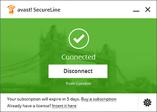 how to cancel avast secure line