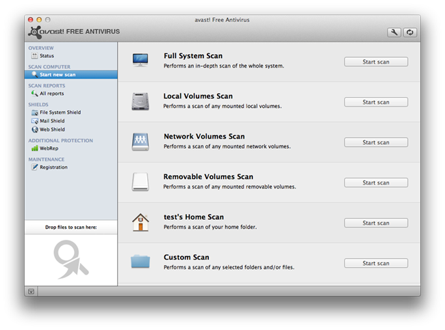 avast! Free Antivirus para Mac esta aquí