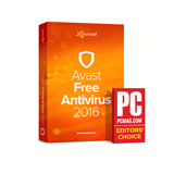 Avast 2016 riceve il premio Editors' choice di PC Mag