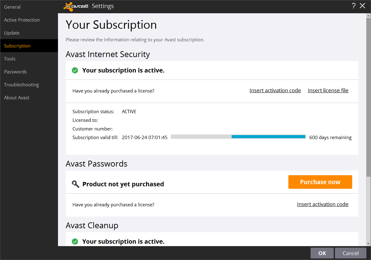 avast license file till 2016 free download