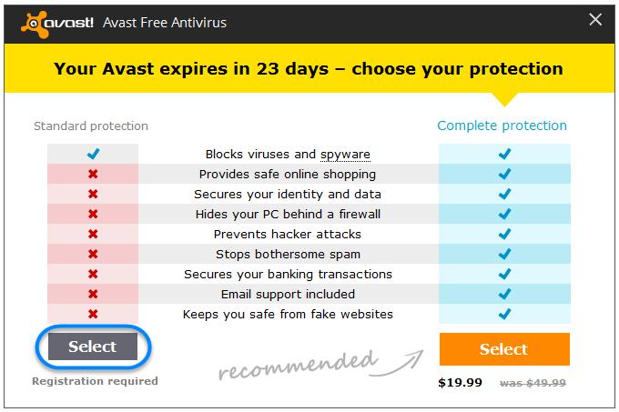 avast antivirus free  for pc windows 7