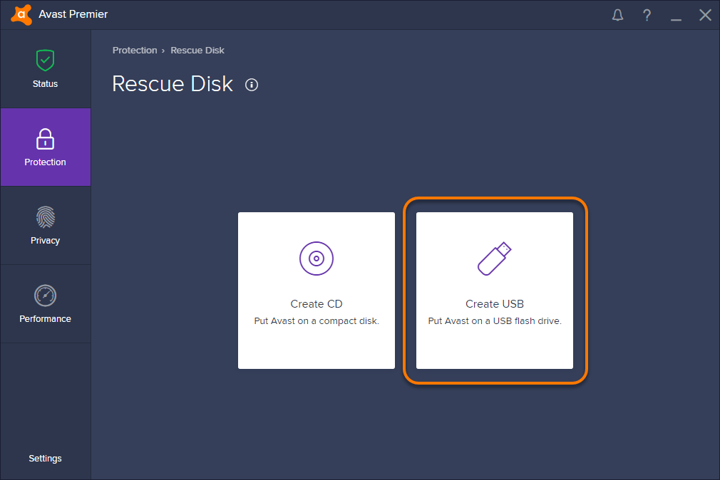 cd antivirus avast