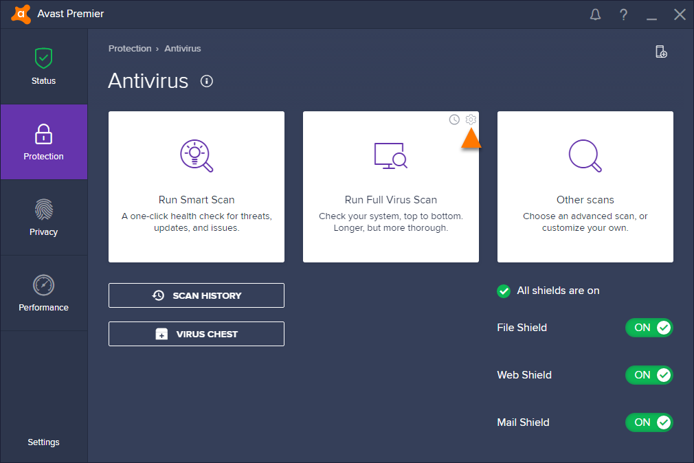 Excluding certain files or websites from scanning in Avast Antivirus | Official Avast Support