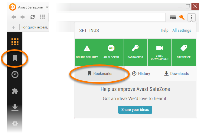 Avast safezone browser getting started   official avast support.