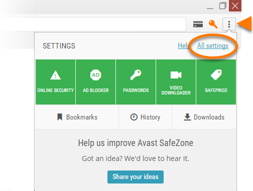 Antivirus giant avast launches browser with built-in youtube.