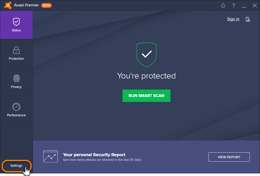 web shield antivirus