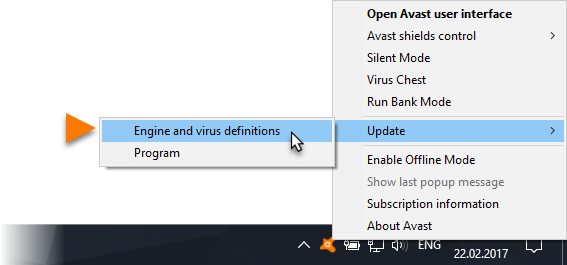 How to update your avast! Antivirus to version 2013.