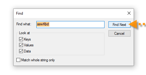 avast registering aswkbd as a filter driver