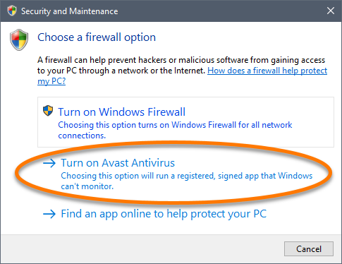 How to Disable (Turn Off) Firewall in Avast Antivirus