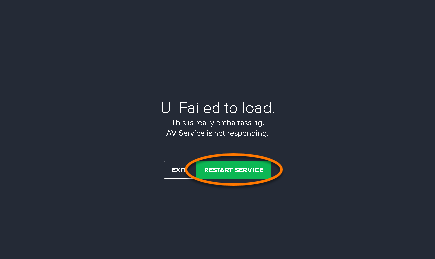 load avast services only after
