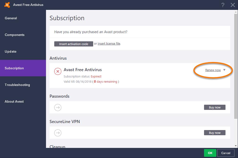 Avast скачать Файл Лицензии