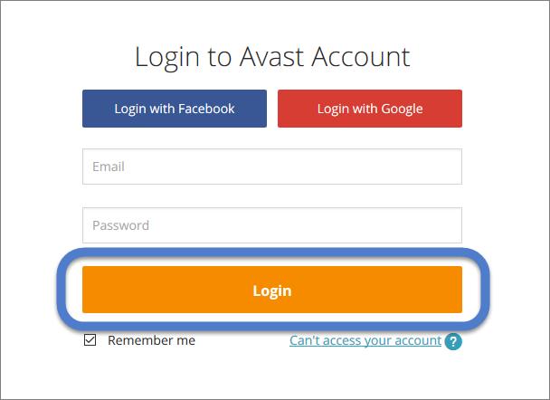 Comandos e Códigos SMS do avast! Mobile Security para Android