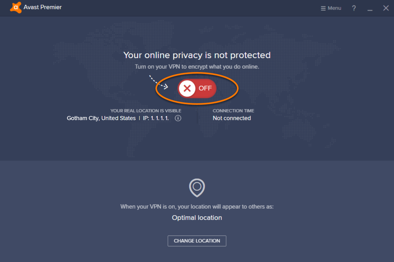 Avast SecureLine VPN for Windows and Mac - Getting started