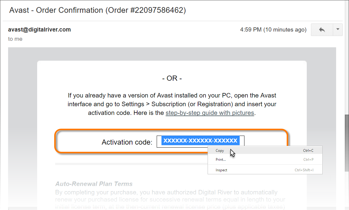 Activating avast pro antivirus with an activation code official download a license from your avast account ccuart Gallery