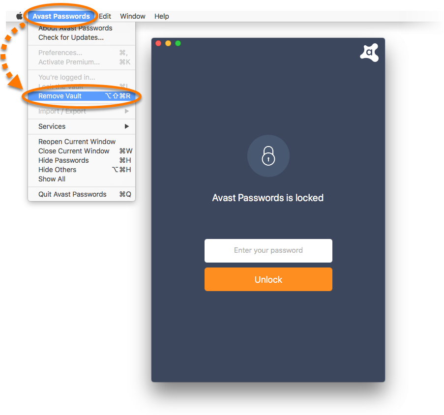 Resetting Avast Passwords to defaults | Official Avast Support