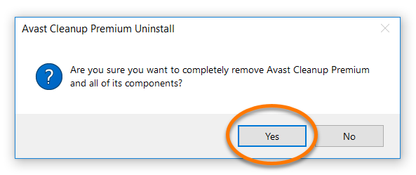 manually remove avast mac