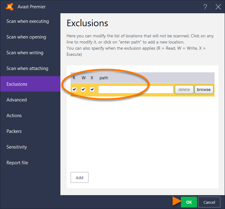 how to stop scanning in avast antivirus