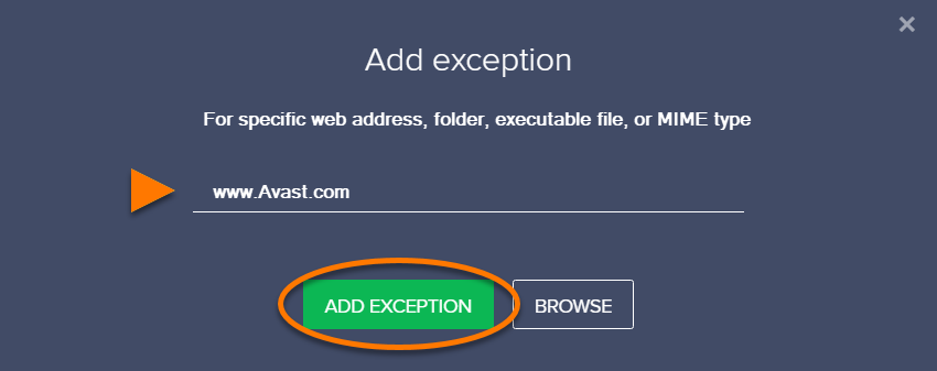 Excluding Certain Files Or Websites From Scanning In Avast Antivirus