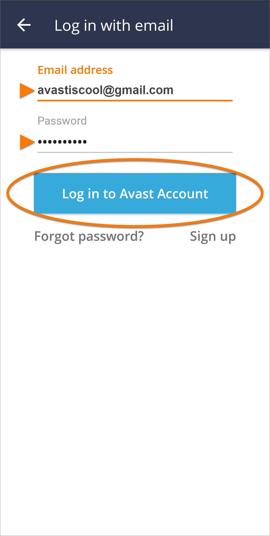 avast cloudcare business login