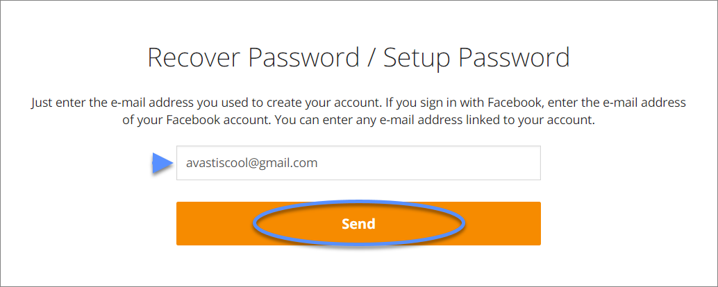 Restoring your Avast Account password | Official Avast Support