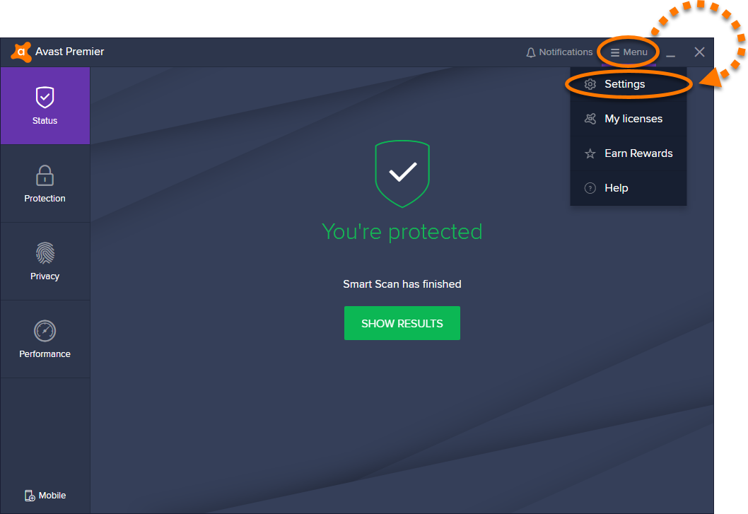 antivirus avast familial gratuit 4.8