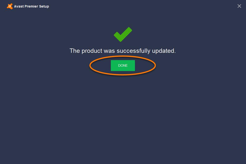 avast premier program update