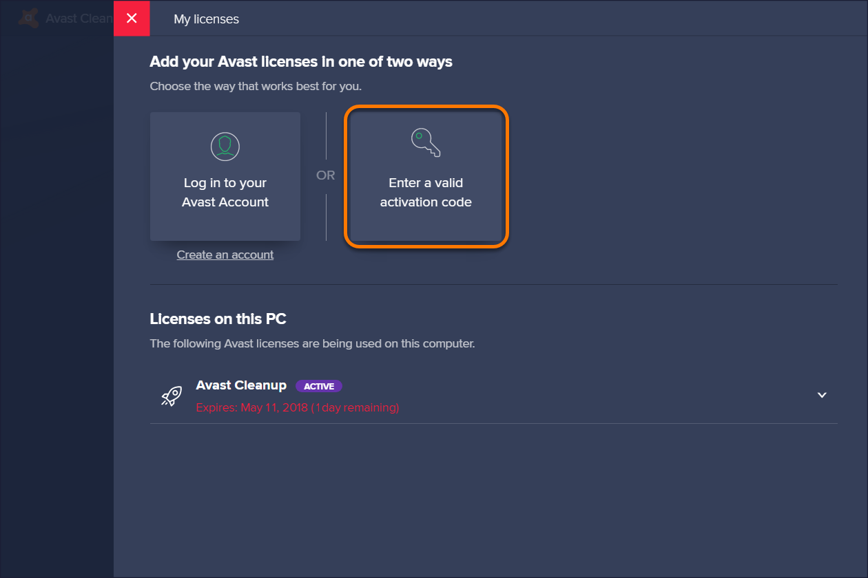 avast cleanup pour windows 10