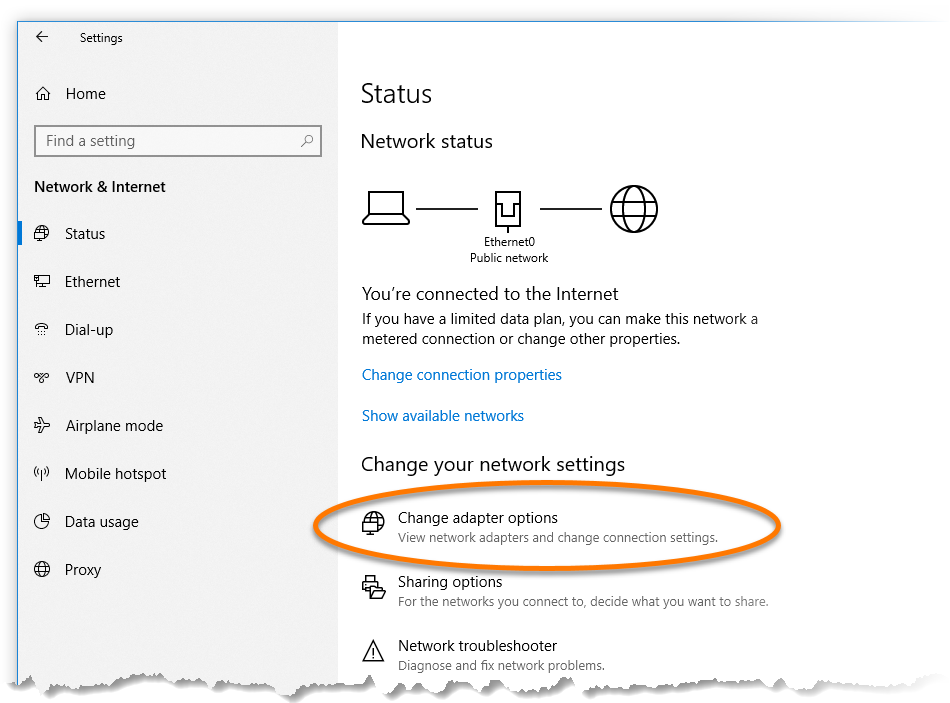 Changing your DNS settings when Avast SecureLine VPN cannot