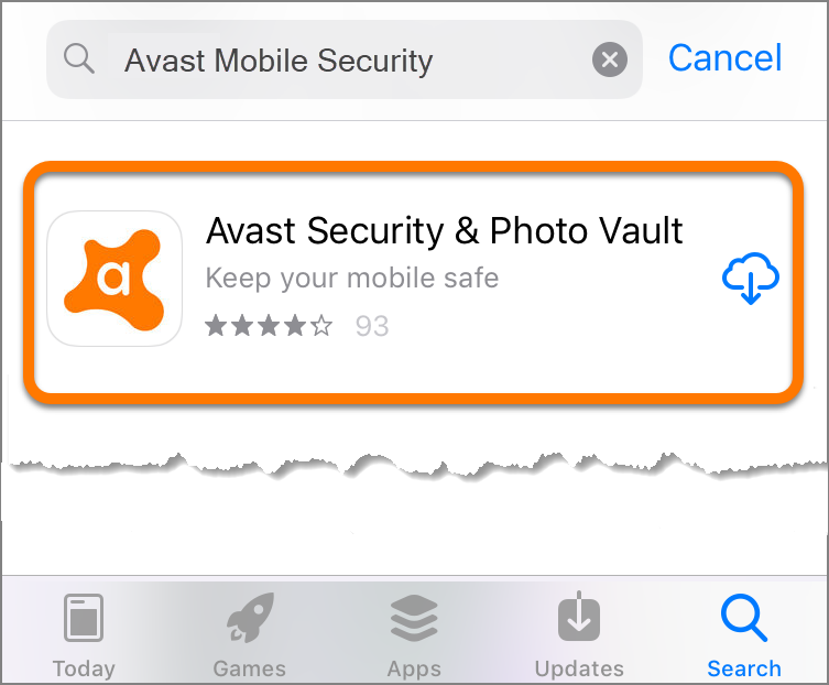 Installing Avast Mobile Security on iOS | Official Avast Support