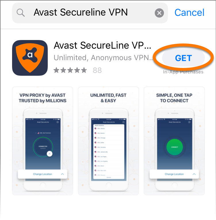 Avast! Secureline vpn for iphone download.
