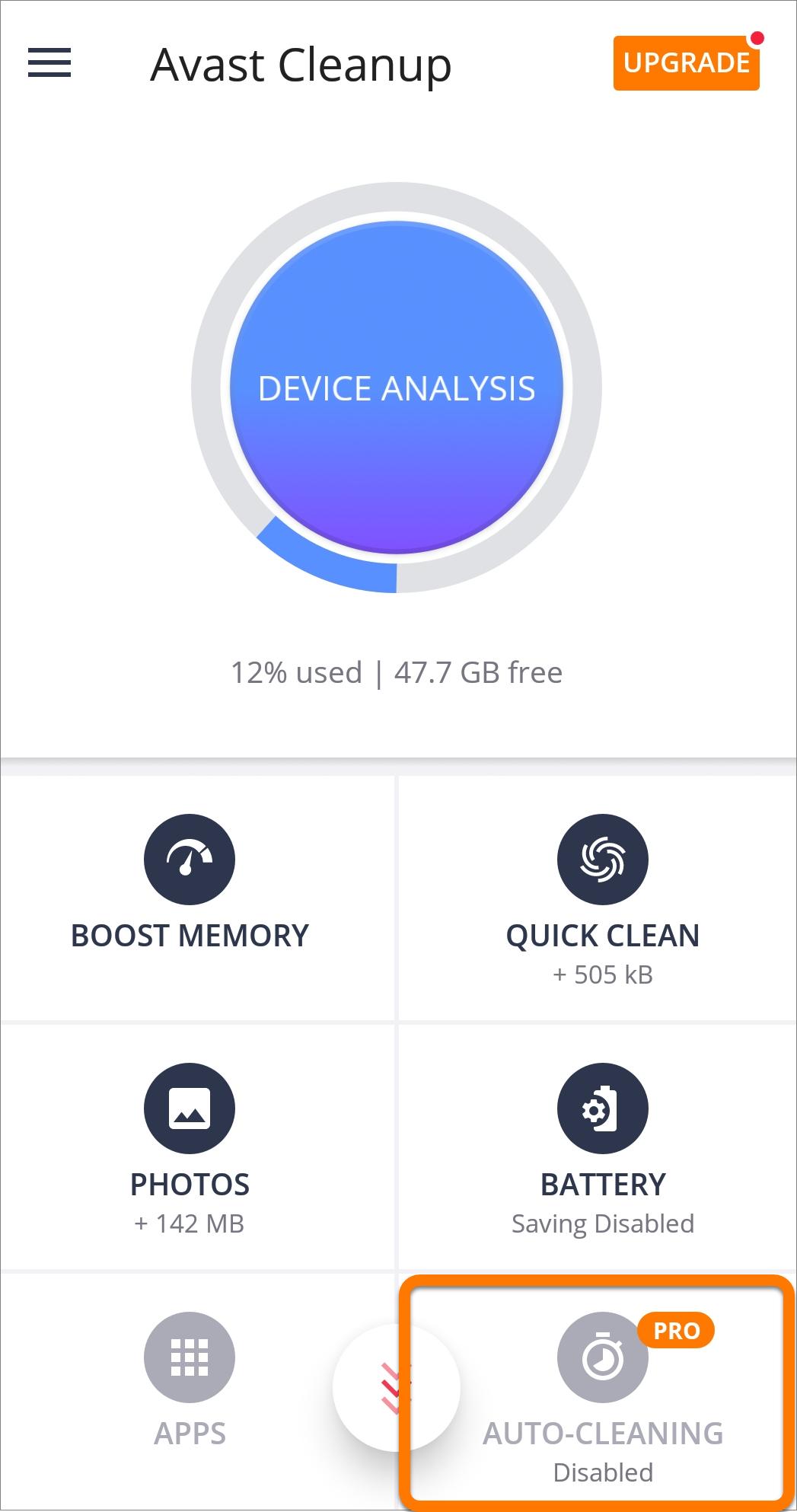 avast cleanup premium pro apk