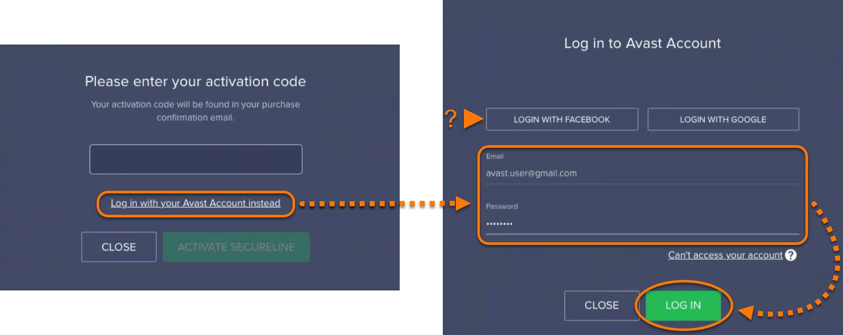 avast secureline mac activation code