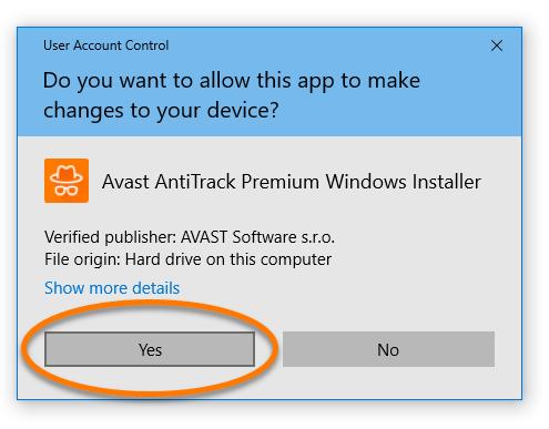avast anti track premium trial