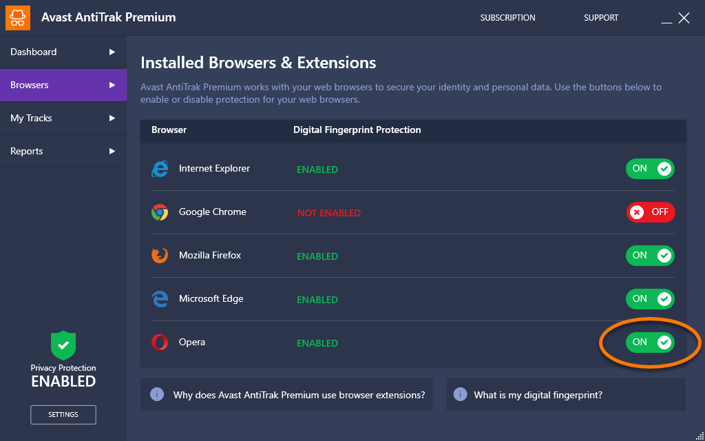 avast installing google chrome