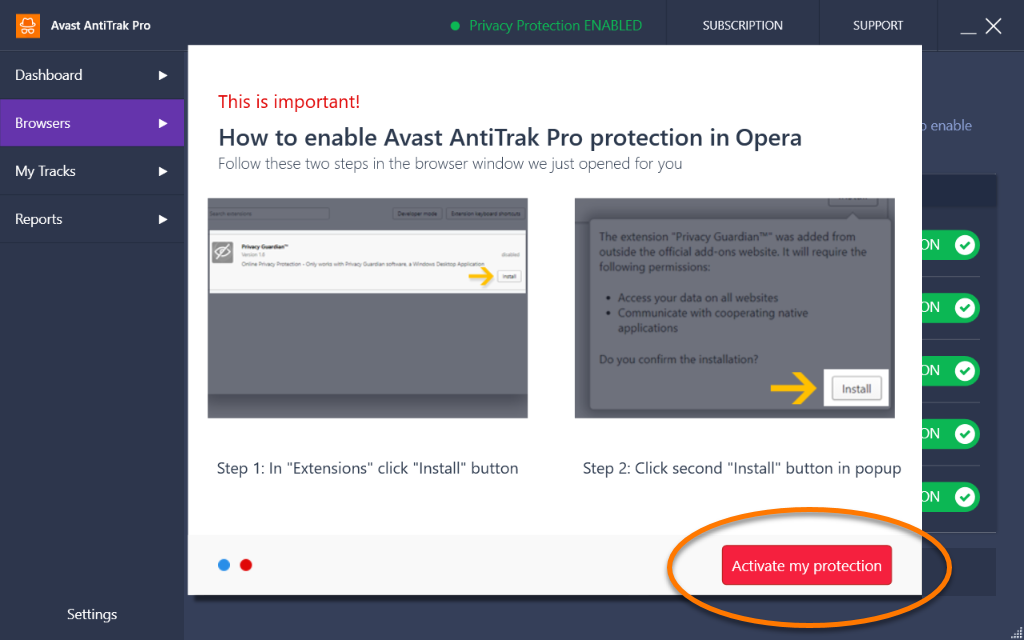 how to cancel avast premiume