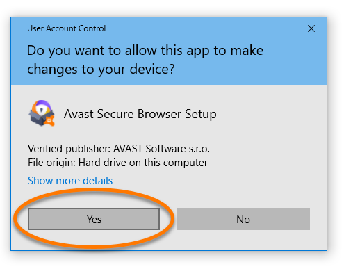 remove avast secure browser from startup