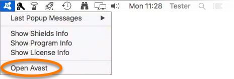avast free antivirus mac uninstall