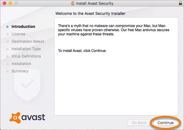 Installing Avast Security Pro on Mac | Official Avast Support