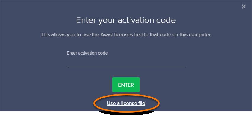 avast premier latest version license file