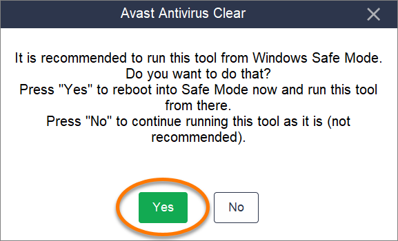 Using the Uninstall Utility for Avast Antivirus | Official
