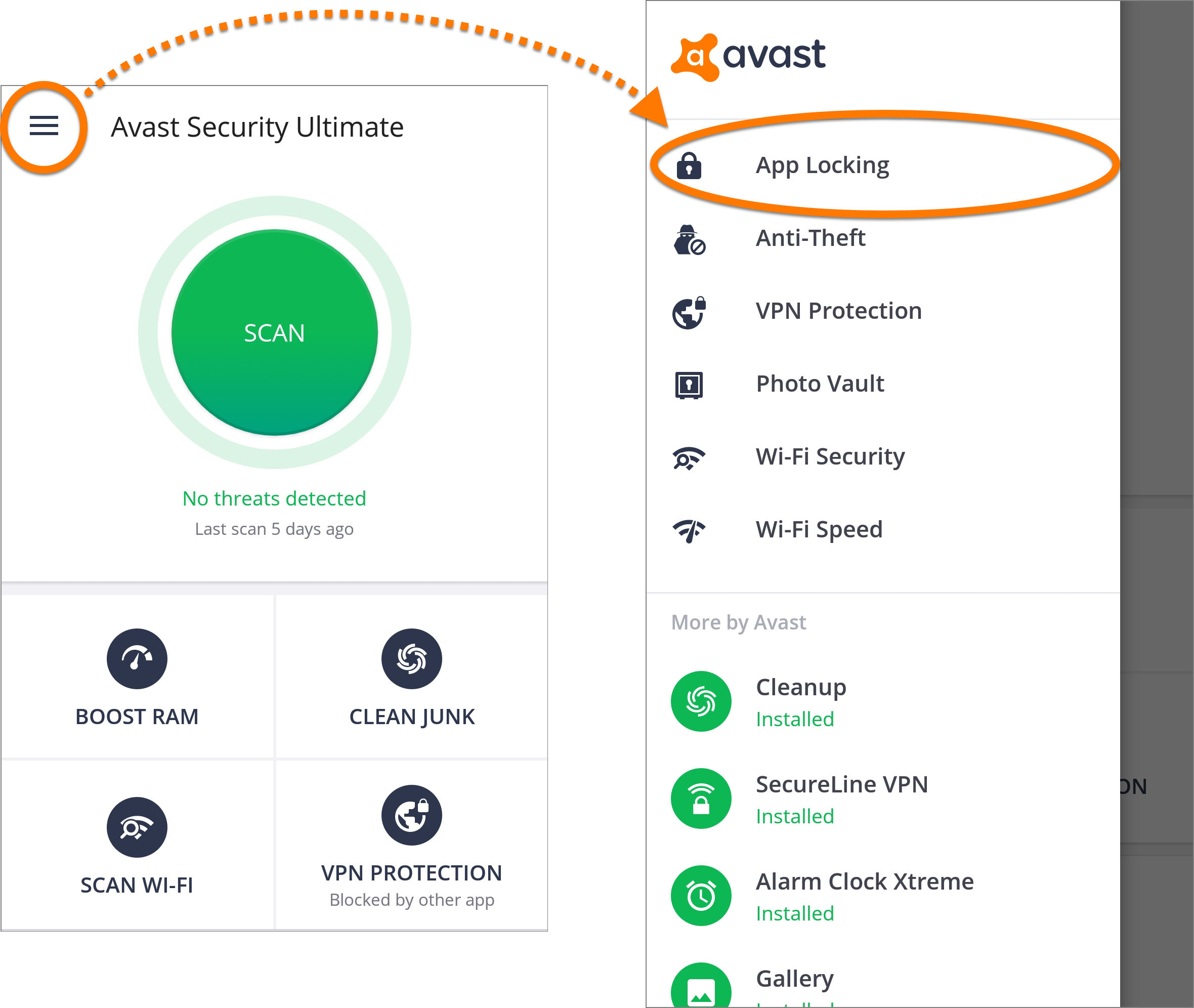 Avast Mobile Security for Android - Getting Started