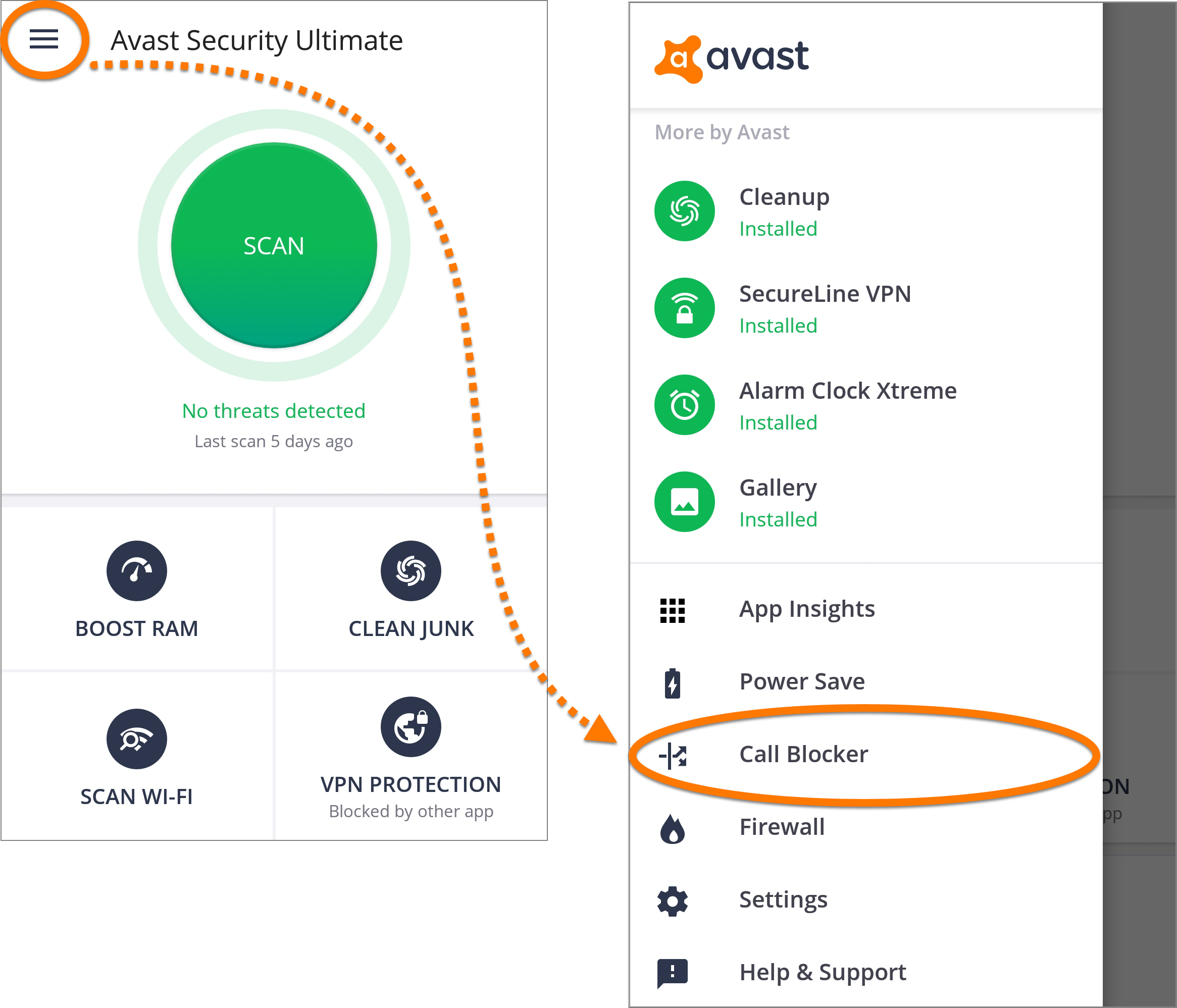 avast security phone number