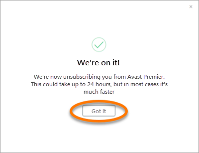 turn off avast auto renewal