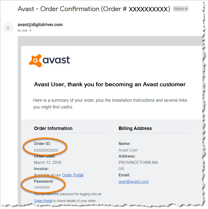 avast support email address