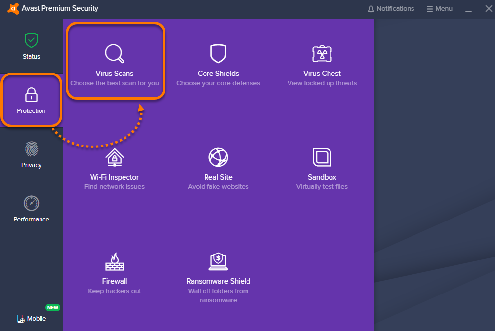 Running a Boot-time Scan in Avast Antivirus   Official Avast