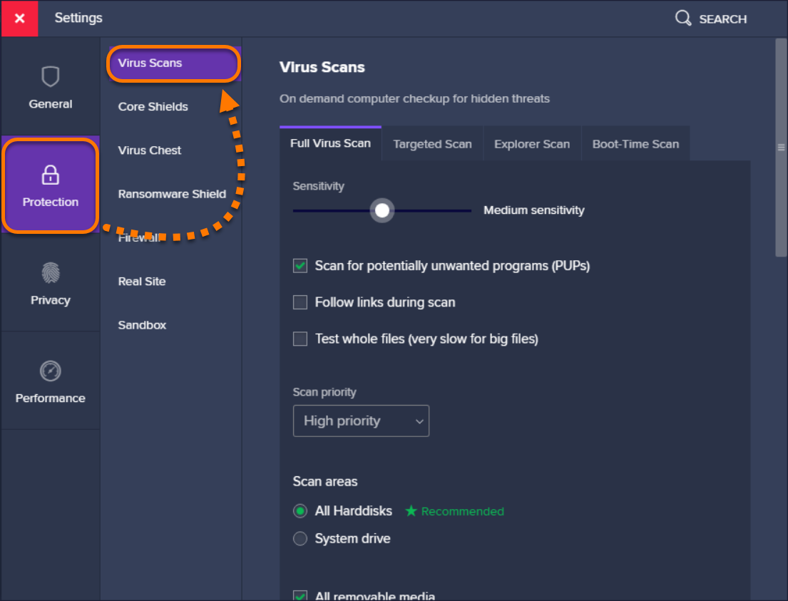 Scanning your PC for viruses with Avast Antivirus | Official Avast