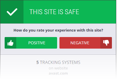 avast online tracking