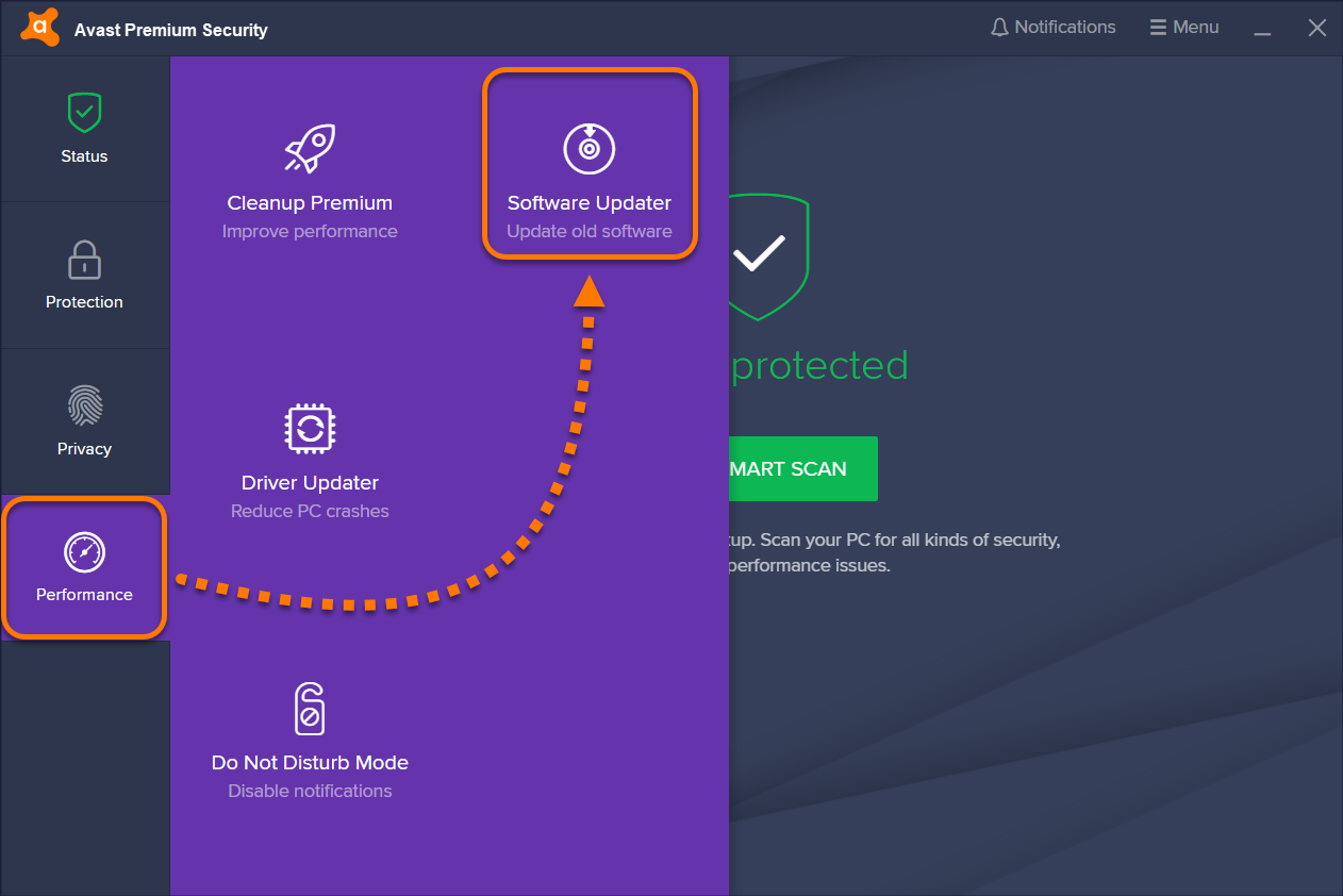 Software Updater - Getting Started | Official Avast Support