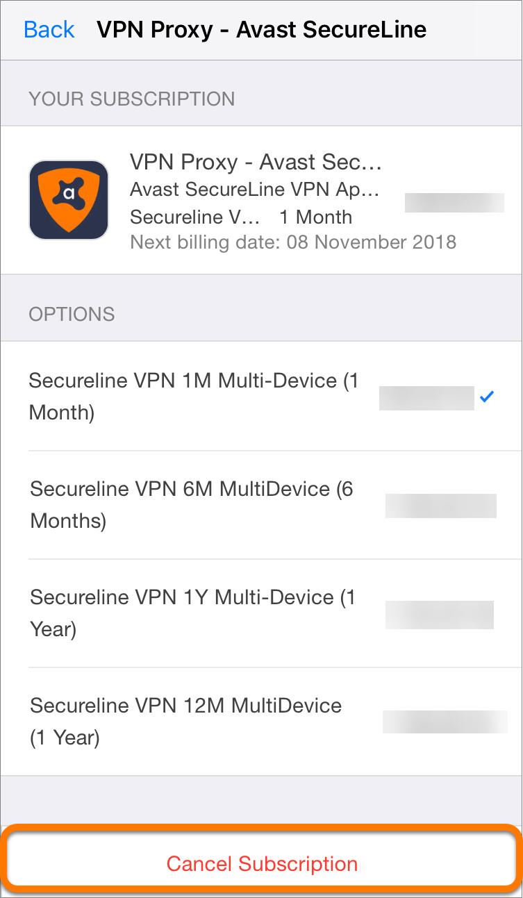 avast secureline vpn licencia 2018