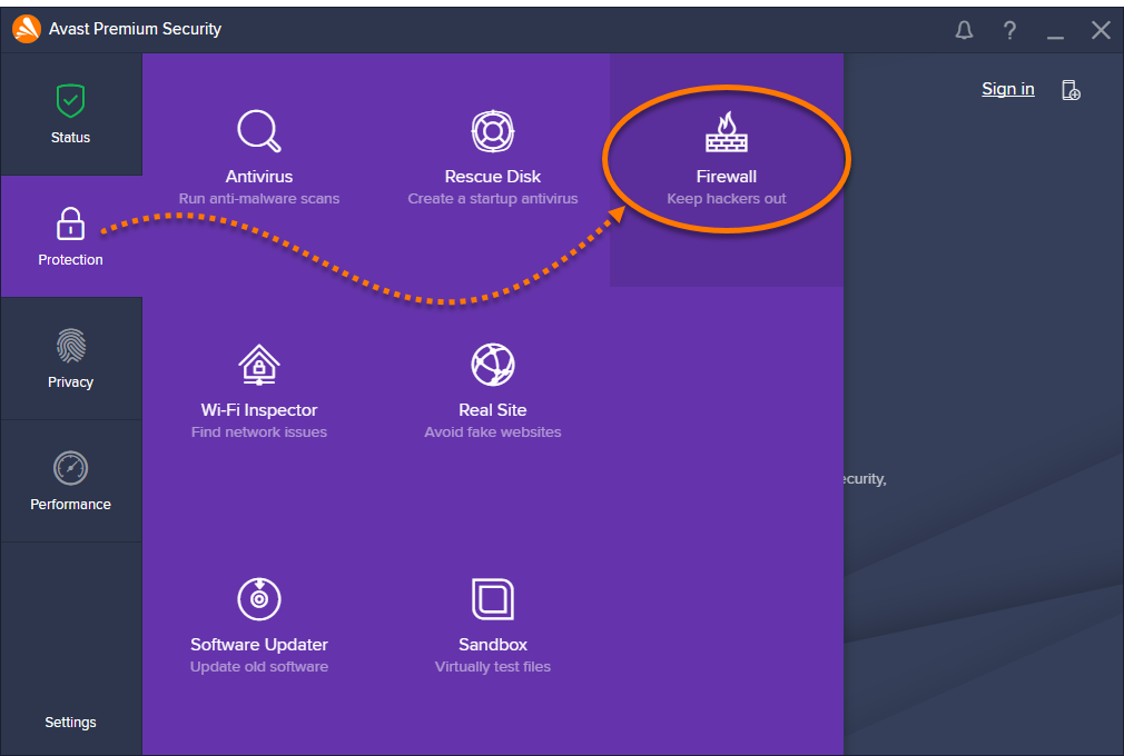 Setting up Firewall Application Rules in Avast Antivirus | Official